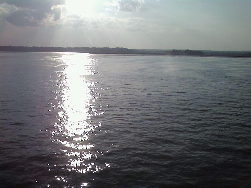 Sundown on Amtrak
